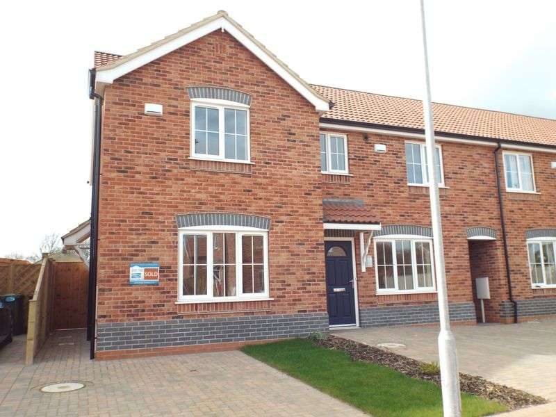 2 Bedrooms Terraced House for sale in Brand New Two Bedroom End Of Terrace