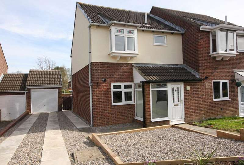 3 Bedrooms Semi Detached House for sale in Simonburn, Oxclose, Washington NE38 0NJ