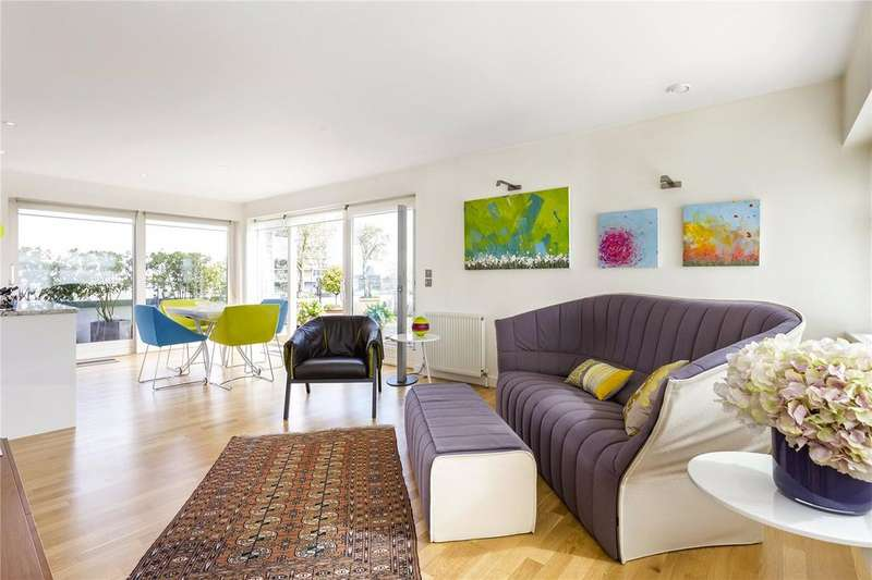 2 Bedrooms Penthouse Flat for sale in Eyot House, Marine Street, London, SE16