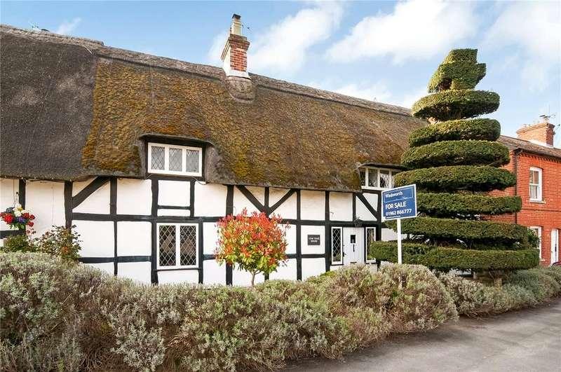 3 Bedrooms Semi Detached House for sale in Romsey Road, Kings Somborne, Stockbridge, SO20