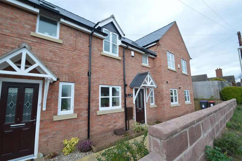 3 Bedrooms Terraced House for sale in 3 Blakeway Mews, Ridgway, High Ercall, Telford, TF6 6BZ