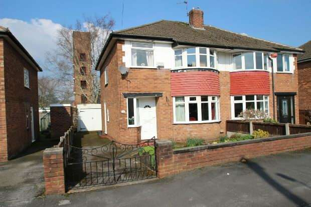 3 Bedrooms Semi Detached House for sale in Lansdowne Road, Altrincham