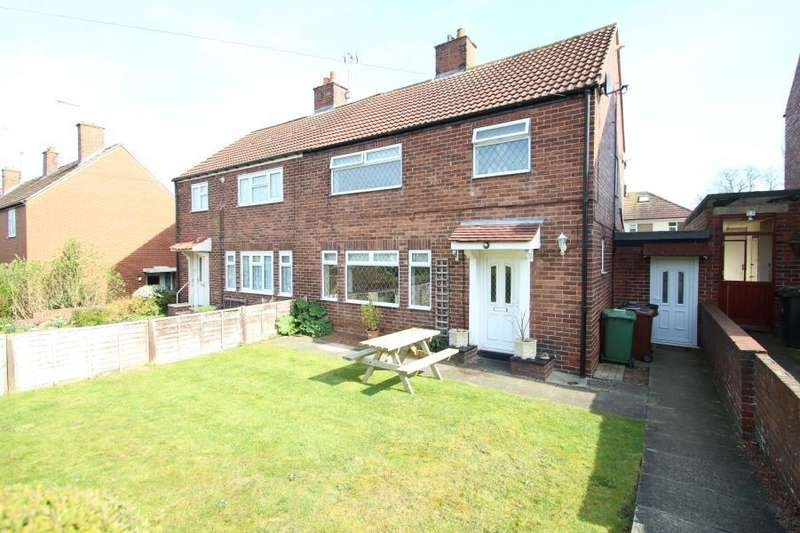 3 Bedrooms Semi Detached House for sale in BROOKSIDE, COLLINGHAM, WETHERBY, LS22 5AN