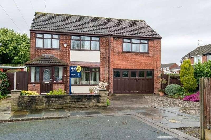 4 Bedrooms Detached House for sale in Meriden Close, Laffak, St. Helens