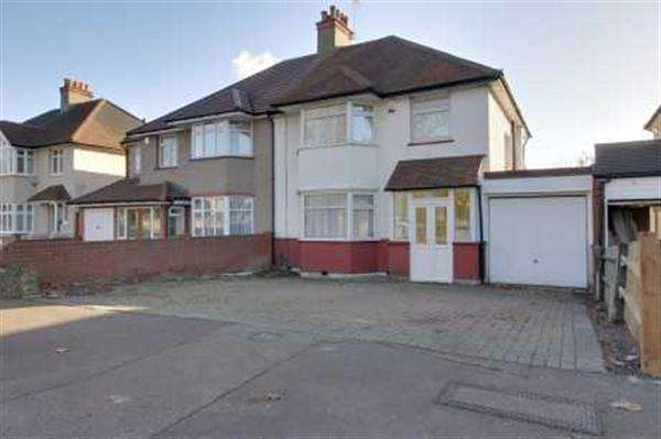 4 Bedrooms Semi Detached House for sale in Whitchurch Lane, Edgware