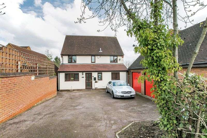 4 Bedrooms Detached House for sale in Astlethorpe, Two Mile Ash, Milton Keynes