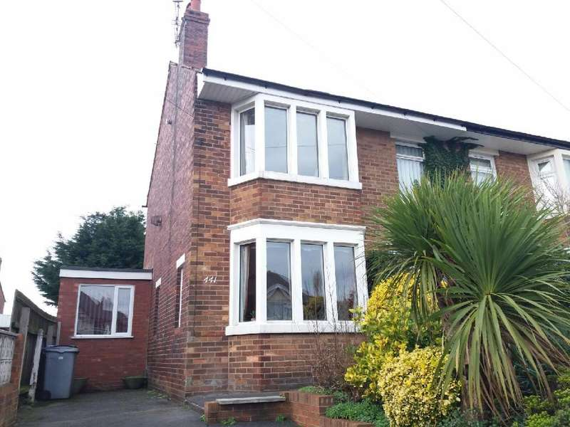 3 Bedrooms Semi Detached House for sale in Blackpool Old Road, Blackpool, FY3 7LN