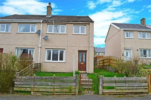 3 Bedrooms Semi Detached House for sale in Aneurin Crescent, Brynmawr, Ebbw Vale, Blaenau Gwent
