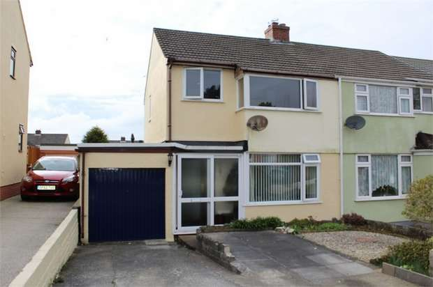 3 Bedrooms Semi Detached House for sale in Margaret Crescent, Bodmin, Cornwall