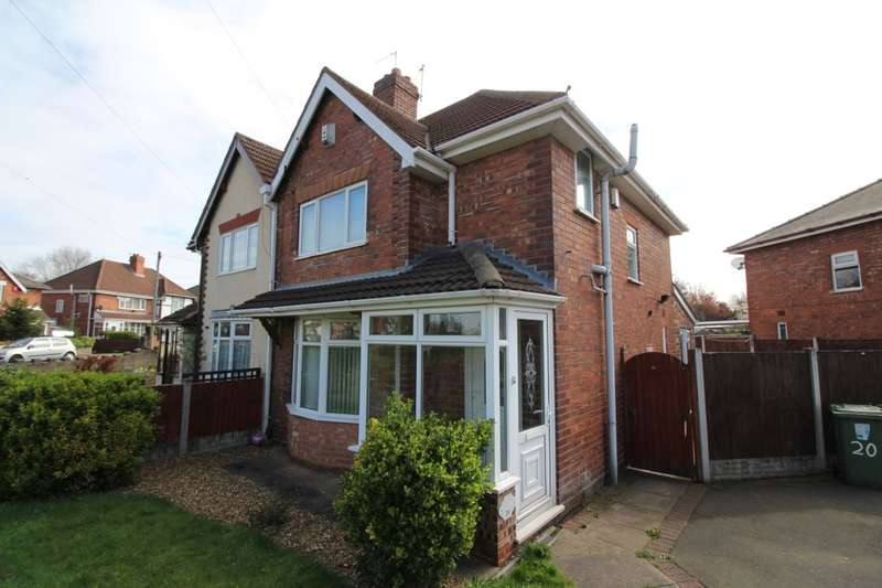 3 Bedrooms Semi Detached House for sale in Valley Road, Walsall, WS3