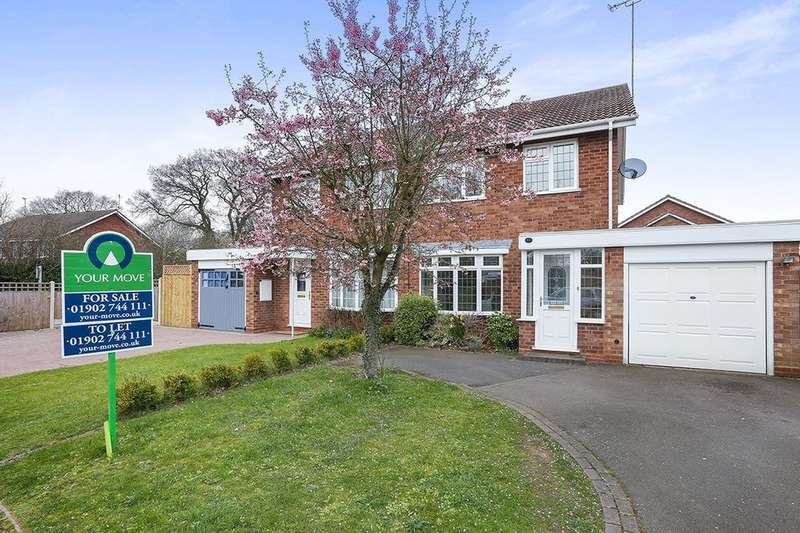 3 Bedrooms Semi Detached House for sale in Gainsborough Drive, Wolverhampton, WV6