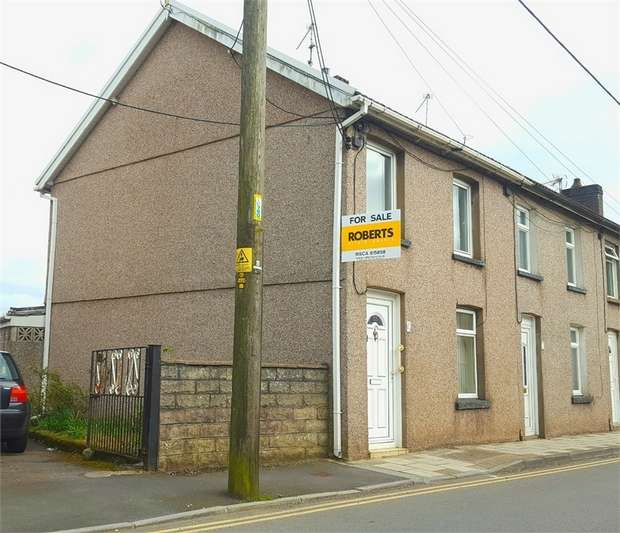 2 Bedrooms End Of Terrace House for sale in Mill Street, Risca, NEWPORT, Caerphilly