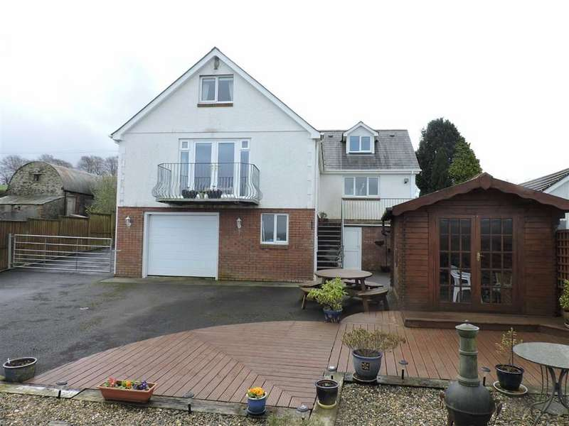 4 Bedrooms Property for sale in Llanllwni, Pencader