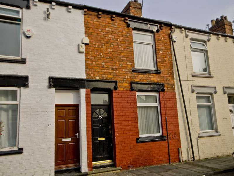 2 Bedrooms Terraced House for sale in Aubrey Street, Middlesbrough, TS1 3LY