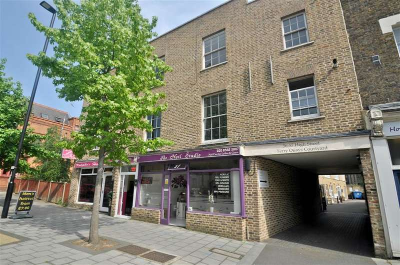 1 Bedroom Flat for sale in High Street, Brentford, TW8 0AH