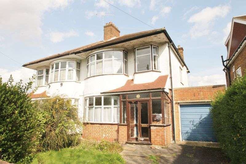 3 Bedrooms Semi Detached House for sale in West End Road, Ruislip