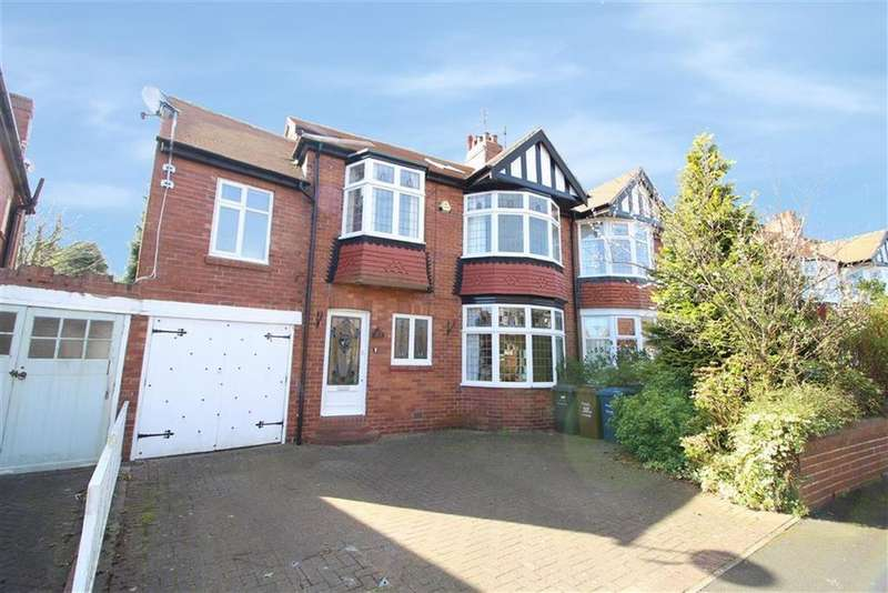 4 Bedrooms Semi Detached House for rent in Polwarth Crescent, Newcastle Upon Tyne