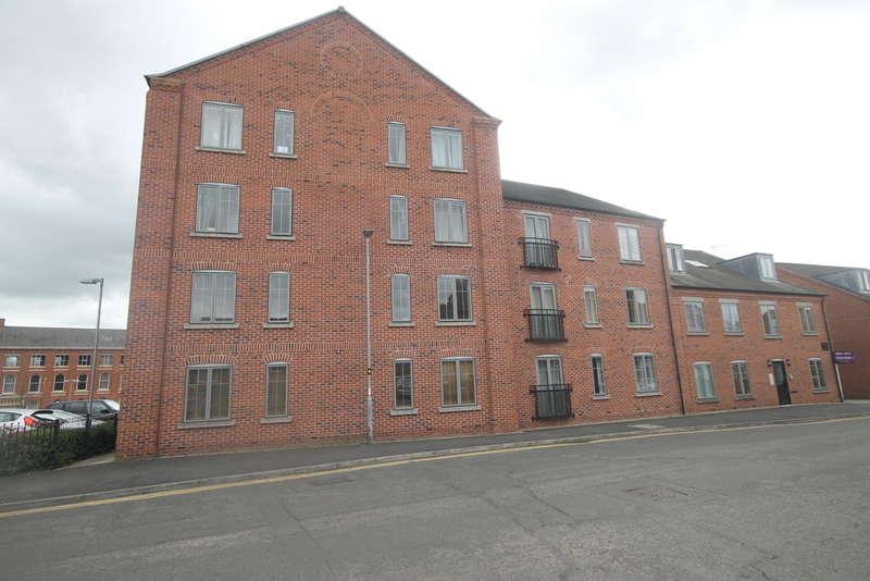 2 Bedrooms Apartment Flat for sale in Weavers Court, Hinckley