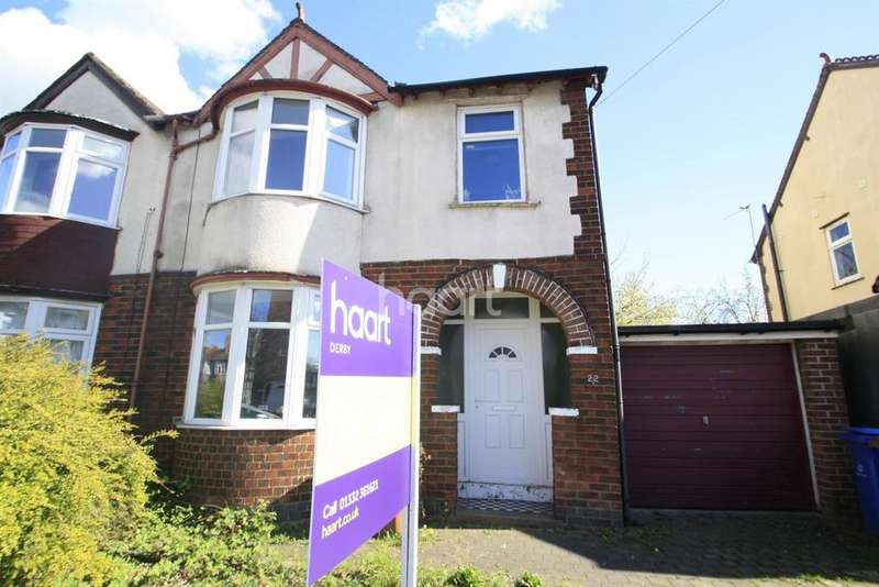 3 Bedrooms Semi Detached House for sale in Beech Avenue, Alvaston