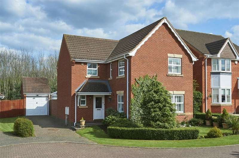 4 Bedrooms Detached House for sale in Stinford Leys, Market Harbrough, Leicestershire