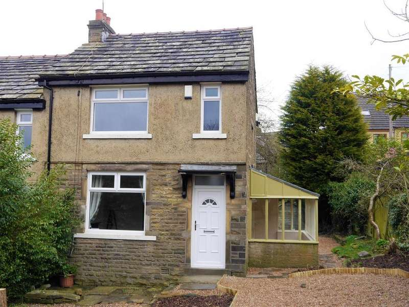3 Bedrooms End Of Terrace House for sale in Nursery Road, Horton Bank Top, Bradford, BD7 4LH