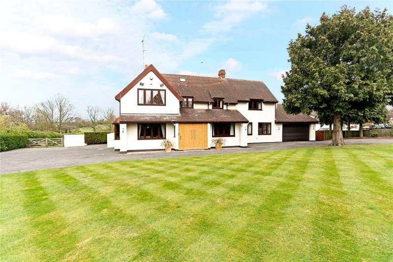 5 Bedrooms Detached House for sale in Middle Street, Nazeing, Waltham Abbey, Essex, EN9