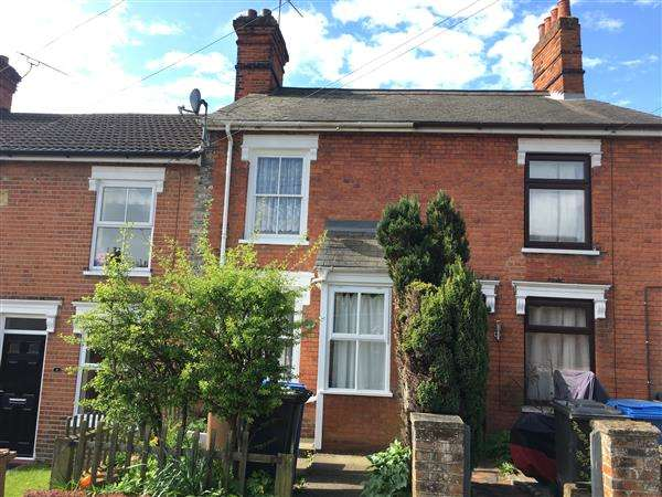 3 Bedrooms Terraced House for sale in North Hill Road, Ipswich