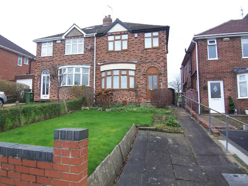 3 Bedrooms Semi Detached House for sale in Upper Dunstead Road, Langley Mill