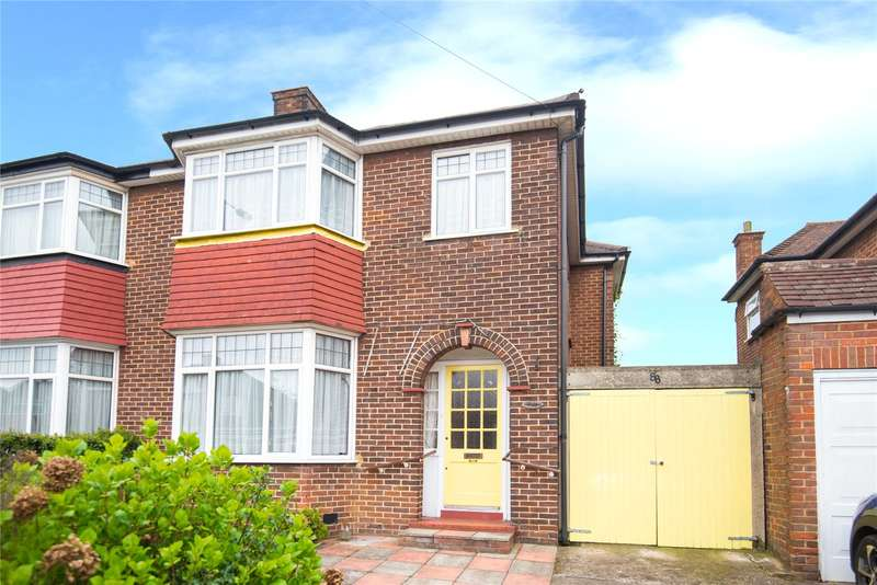 3 Bedrooms Semi Detached House for sale in Wemborough Road, Stanmore, HA7