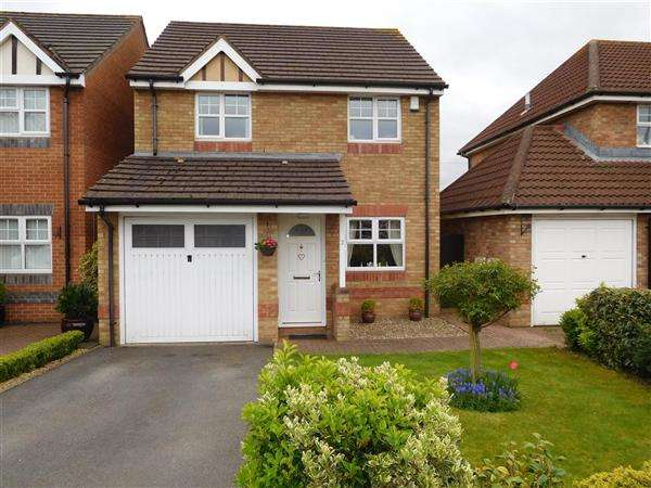 3 Bedrooms Detached House for sale in Kensington Park, Magor