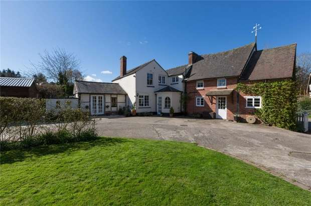 4 Bedrooms Detached House for sale in Ford House, Millbrook Way, Orleton, Ludlow, Herefordshire