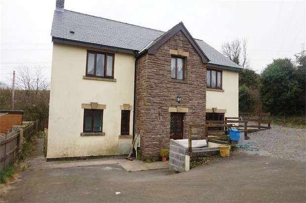 6 Bedrooms Detached House for sale in Waenllapria, Llanelly Hill, ABERGAVENNY, Monmouthshire
