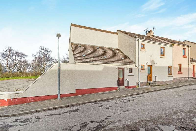 2 Bedrooms Property for sale in Windsor Place, Conon Bridge, Dingwall, IV7