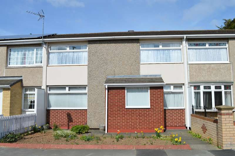 3 Bedrooms Terraced House for sale in Stockwith Close, Netherfields, Middlesbrough, TS3 0RG