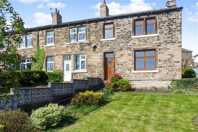 3 Bedrooms End Of Terrace House for sale in Deighton Road, Deighton, Huddersfield