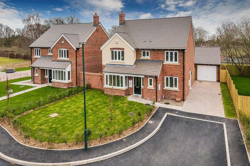 4 Bedrooms Detached House for sale in Pulley Lane, Shrewsbury