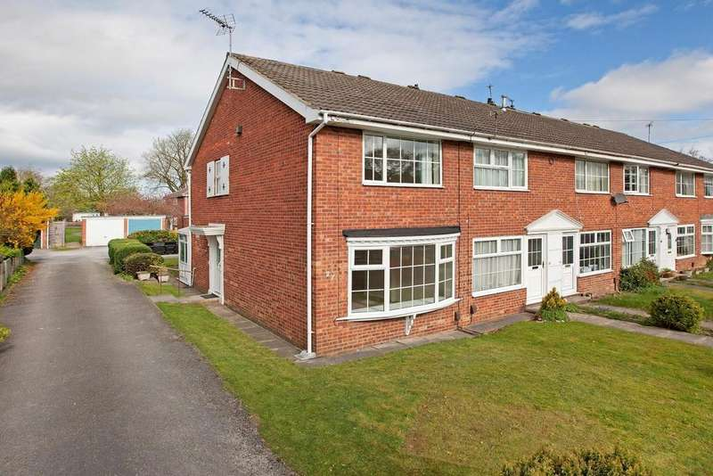 2 Bedrooms House for sale in Millfield Glade, Starbeck, Harrogate