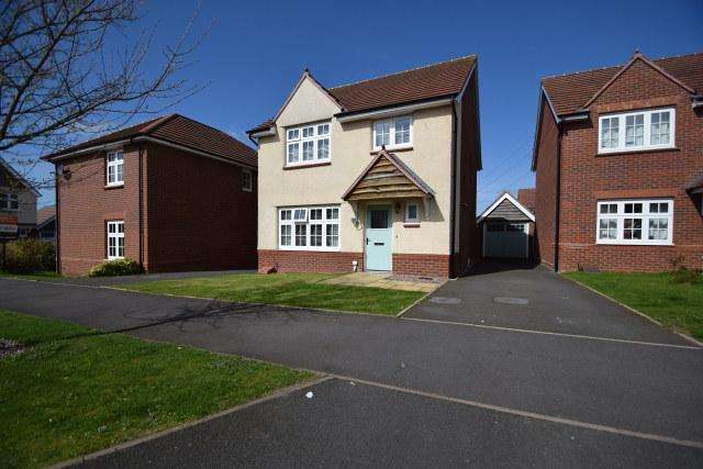 4 Bedrooms Detached House for sale in Elliot Drive,Churchbridge,Cannock