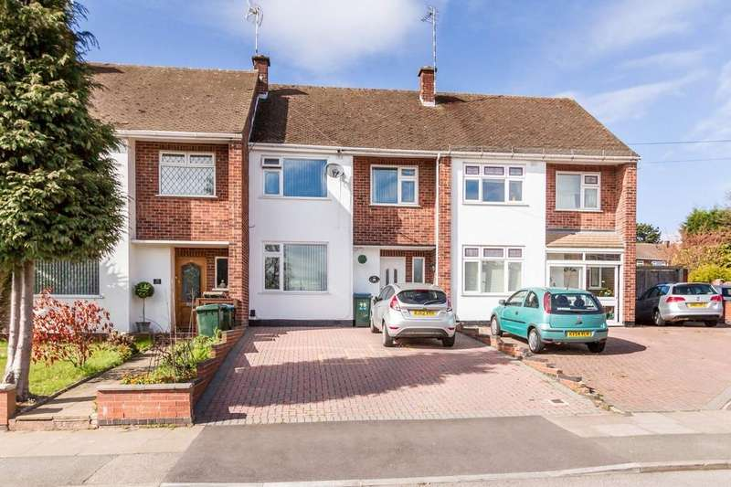 3 Bedrooms Terraced House for sale in Winsford Avenue, Allesley Park, Coventry