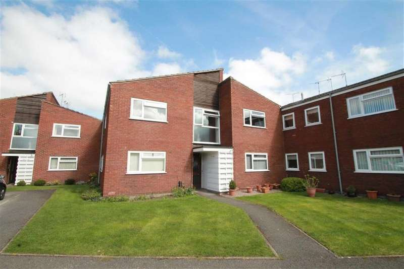 2 Bedrooms Apartment Flat for sale in Grove Lodge Close, Wrexham