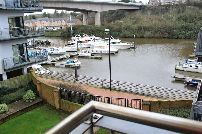 2 Bedrooms Apartment Flat for sale in Cambria, Victoria Wharf, Cardiff