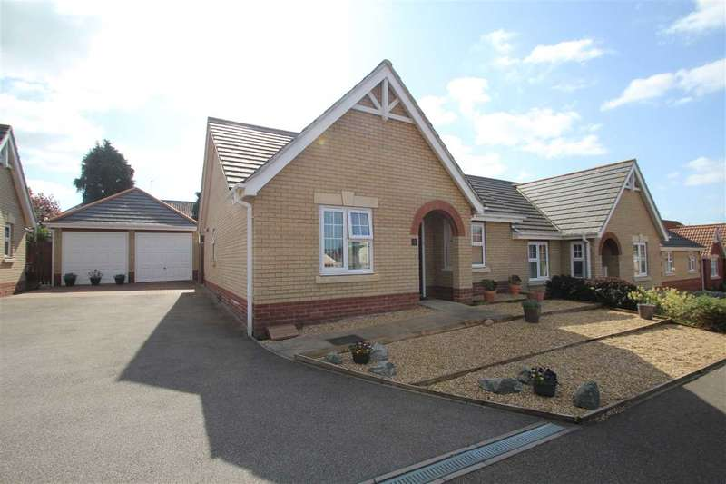 2 Bedrooms Semi Detached Bungalow for sale in Wheelers Close, Sudbury