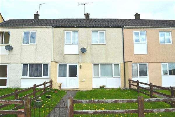 3 Bedrooms Terraced House for sale in Bro Myrddin, Johnstown, Carmarthen