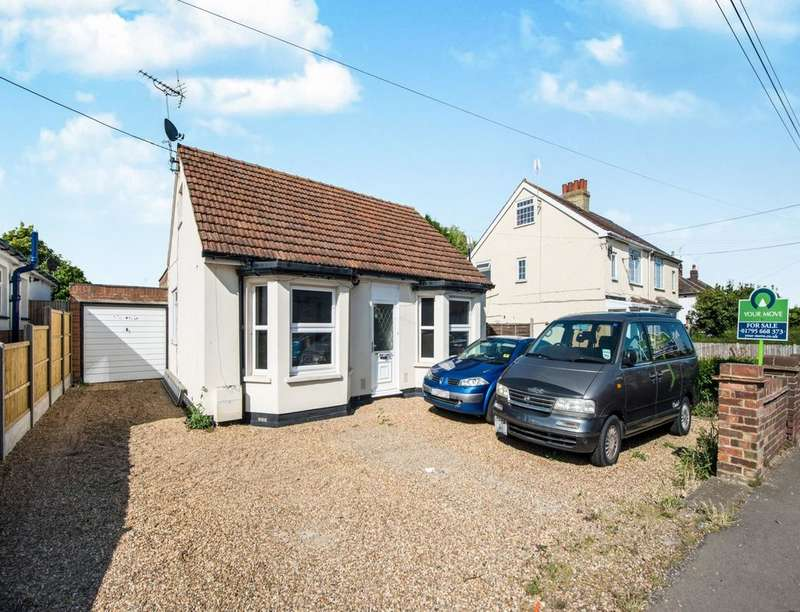 3 Bedrooms Detached Bungalow for sale in Minster Road, Minster On Sea, Sheerness, ME12