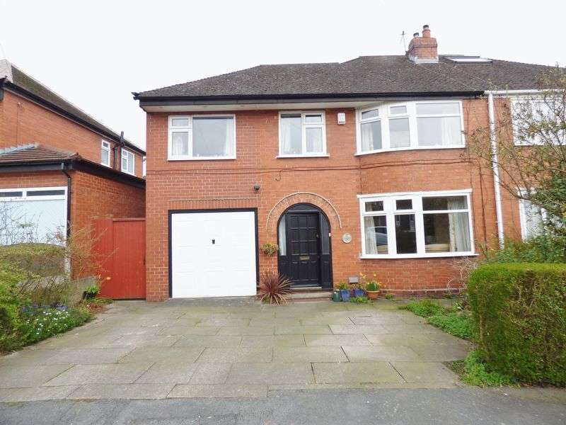 4 Bedrooms Semi Detached House for sale in Halton Road, Warrington