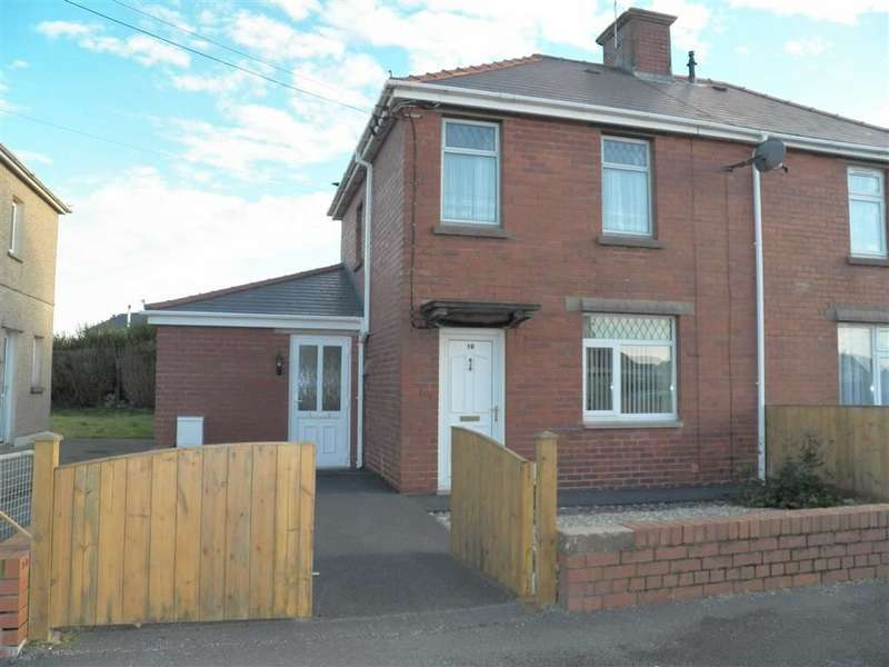 3 Bedrooms Semi Detached House for sale in Gwelfor, Llwynhendy, Llanelli