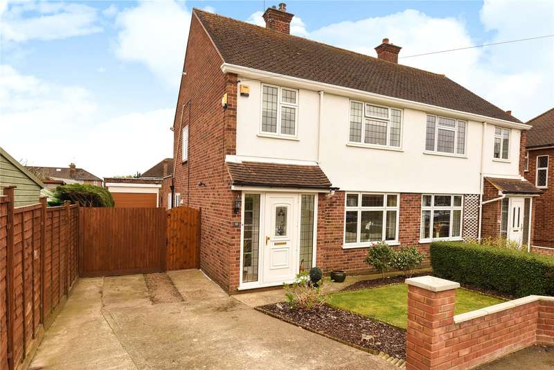 3 Bedrooms Semi Detached House for sale in Normans Close, Uxbridge, Middlesex, UB8