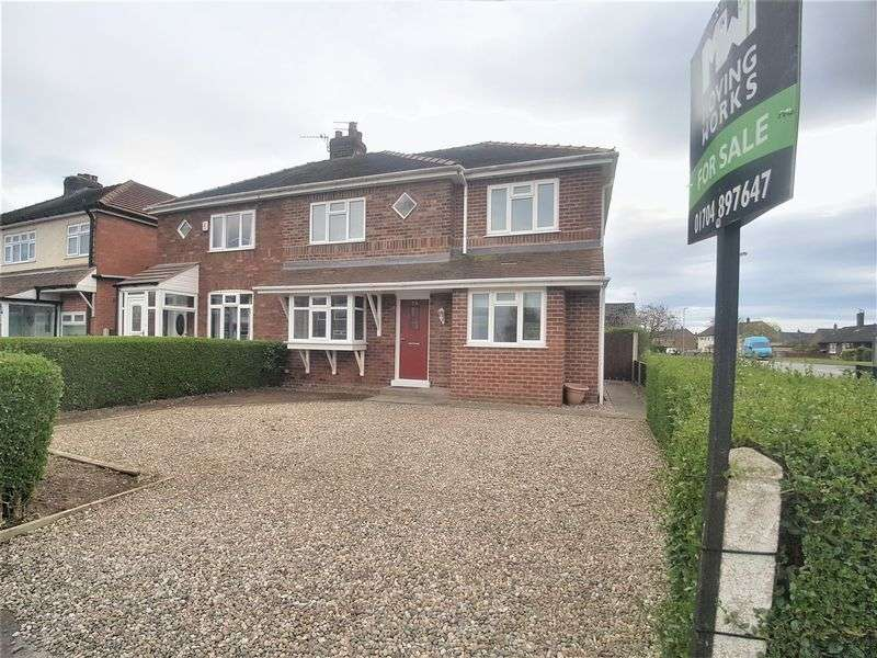 3 Bedrooms Semi Detached House for sale in Trevor Road, Burscough, Ormskirk