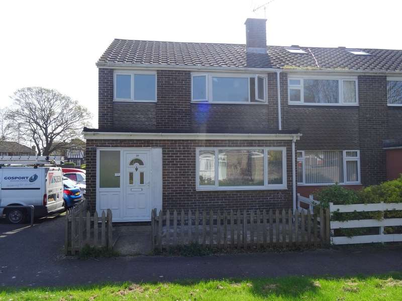 4 Bedrooms End Of Terrace House for sale in Long Drive, Gosport