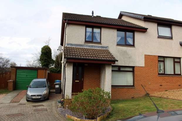 3 Bedrooms Semi Detached House for sale in Kenmure Place, Dunfermline, KY12